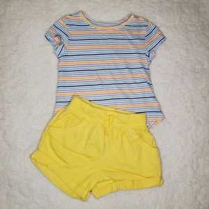 Old Navy Toddler Girl Yellow Outfit 2T